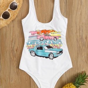 Other - mustang one piece swimsuit